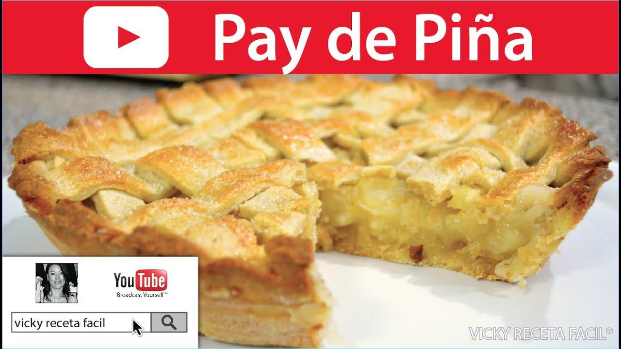 PAY DE PIÑA   Vicky Receta Facil - YouTube
