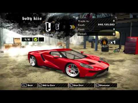 Nfs Most Wanted  Ford Gt Gameplay P
