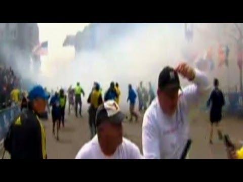 Explosion near Boston Marathon finish line