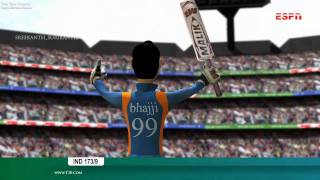 """What a Shot ?""3D Cricket Animation"
