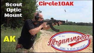 Circle 10 AK Scout Optics Mount (SOMAK) For AK-47 / AK-74 Rifles Review  (HD)