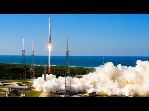 ULA Atlas 5 401 AV-074 Launchig NASA TDRS M Communications Satellite - Live Mirror