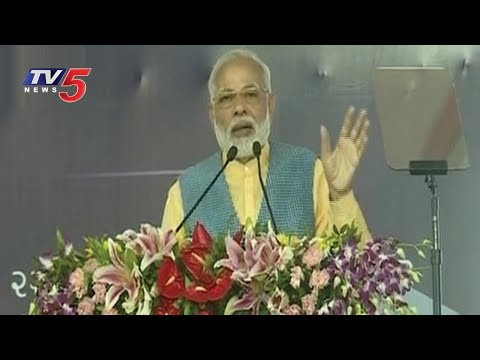 PM Modi Speech in Gujarat | TV5 News