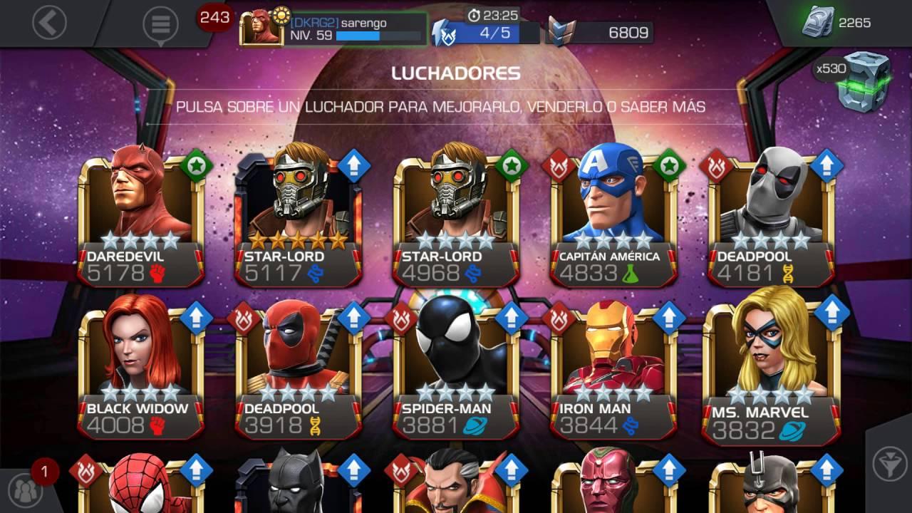 Marvel Super Heroes 60 Superhéroes: TOP 10 MEJORES PERSONAJES MARVEL BATALLA DE SUPER HEROES X