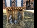 DIY - Stable for Outdoor Nativity Scene (Design Inspired by Church Supply Warehouse)