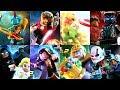 Lego Marvel Superheroes 2 - All DLC Characters!