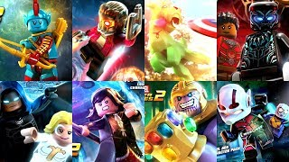 Lego Marvel Superheroes 2 All DLC Characters
