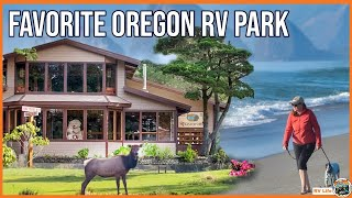 Our Favorite RV Park! Fขll Time Camping Life on the Oregon Coast - Honey Bear By The Sea - Ep.22