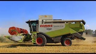 Wielkie Żniwa 2015 Traktory i Kombajny Claas Lexion 750TT & Claas Lexion 540 /HD/ ORAGRO