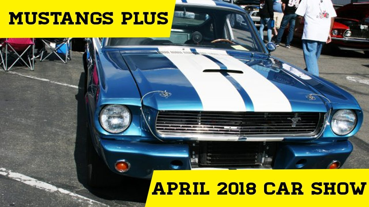 Mustangs plus april 2018 mustangs fords show