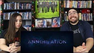 Annihilation - Official Trailer Reaction / Review