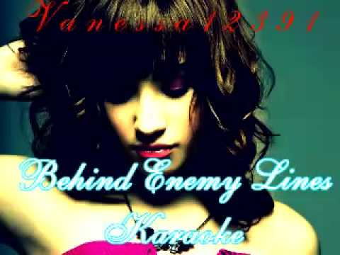 Demi Lovato- Behind Enemy Lines Acoustic Karaoke
