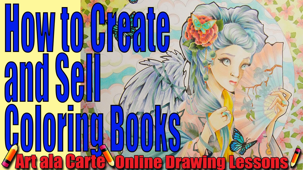 How to Create and Sell your own Coloring Books Tips and Tricks - YouTube