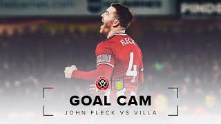 Brilliant John Fleck goal Vs Aston Villa | Sheffield United 2 - 0 Aston Villa