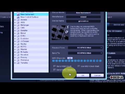 External Hardware MIDI Device setup in Studio One