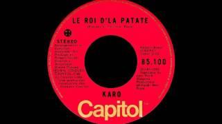 Karo - Le roi d'la patate - 1974