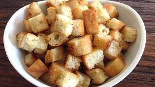 How To Make Homemade Croutons - Marcel Cocit - Love At First Bite Episode 20