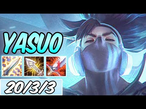 S+ TRUE DAMAGE YASUO ADC FULL CRIT + YUUMI BOT | Build & Runes | League of Legends