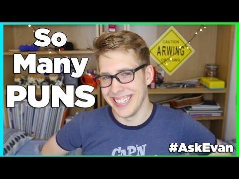 SO MANY PUNS | Evan Edinger