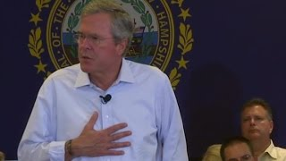 Bush: I have personal experience on drug addiction as a dad