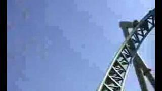 Roller coaster ( Colossus_Thorpe Park - Grossbritannien )