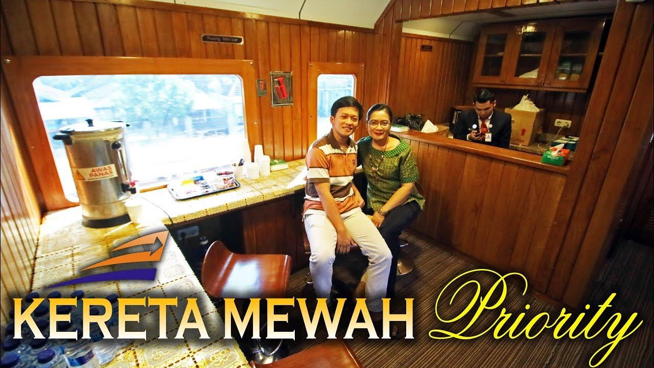 Kereta Mewah Priority Trip Bareng Ibuk Argo Wilis Surabaya Yogyakarta