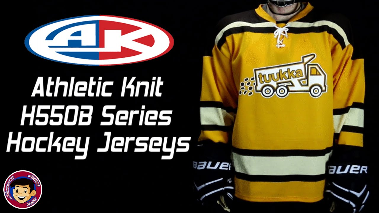 7867201b3a2 Athletic Knit H550B Pro Level Hockey Jerseys - Homegrown Sporting Goods -  YouTube