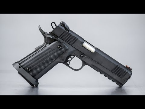 Shooting the Tac Ultra 1911 from Rock Island Armory