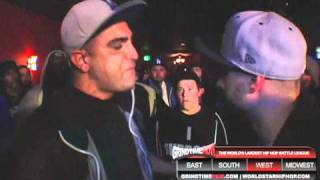 Grind Time Now presents: Dizaster vs Caustic