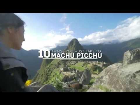 Cusco Guide #2: 10 things you must take to Machu Picchu