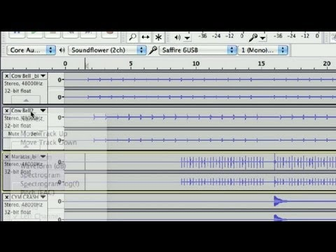 Steps to Recording a Song in Audacity : Audio Recording