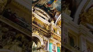 Исаакиевский собор в городе Санкт Петербург.