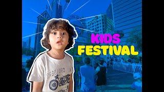 Marki at the Kids Festival