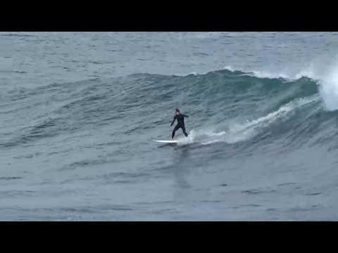 Surfing hurrican Ophelia / surfando o furacão Ophelia nos Açores.