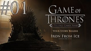 Game Of Thrones - Gameplay ITA - Walkthrough #01 - Episodio 1 - Ferro dal ghiaccio