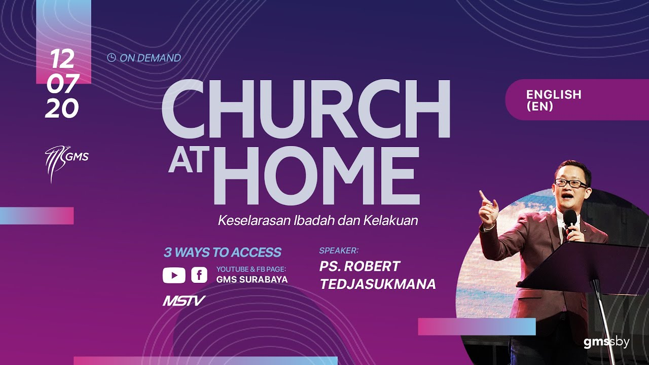 GMS Sunday Online Service (English), 12 Juli 2020