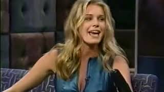 Conan O'Brien 'Rebecca Romijn Stamos & Mom 7/13/2000