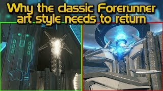 Why the classic Forerunner art style NEEDS to return