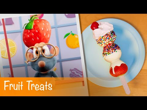Booba Food Puzzle: Fruit Treats Episode 8 Cartoon for kids
