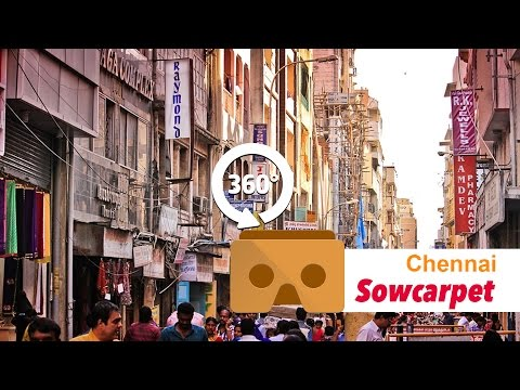 Sowcarpet, Chennai in 360 Degrees #YT360Day Vikatan 360º