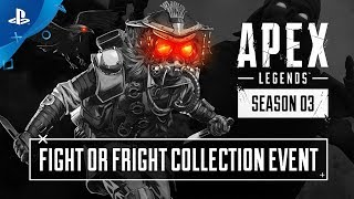 Apex Legends | Fight or Fright Collection Event Trailer | PS4