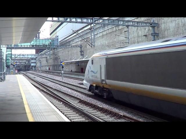 373218 & 373217 Pass Stratford International.