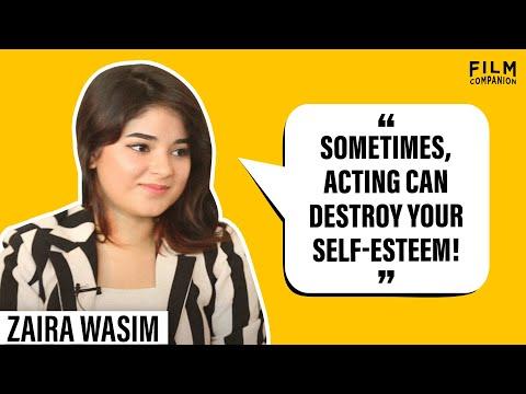 Zaira Wasim Interview with Anupama Chopra | Secret Superstar