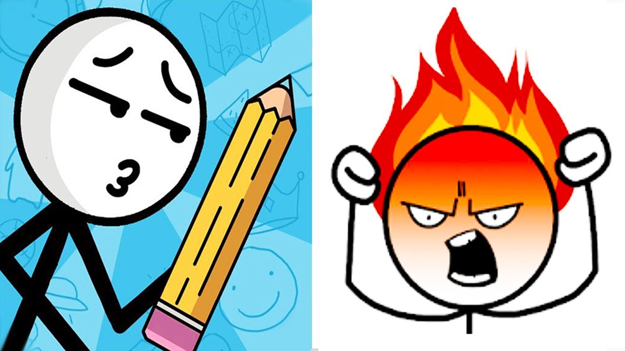 Make Me Angry can you Vs Draw puzzle: sketch it (WEEGOON) Gameplay Walkthrough - All Levels Solution