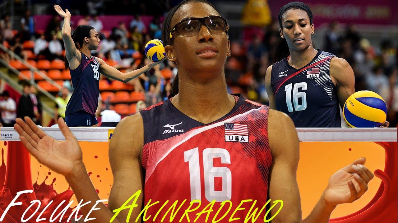 """Download """"She is NOT HUMAN!""""  Legendary Foluke Akinradewo - Best Middle Blocker (HD)"""
