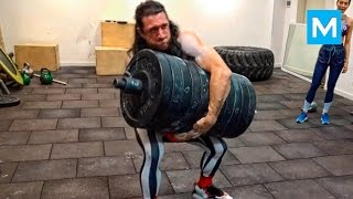 CRAZY RUSSIAN Workout Monster - Alexander Khokhlov | Muscle Madness