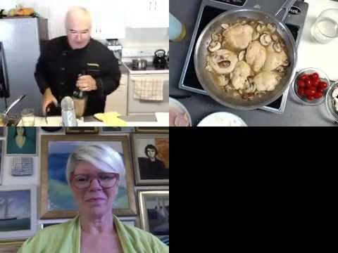 Learn to make Chicken Marsala