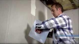 ABA-voegen afwerken met zelfklevende voegband