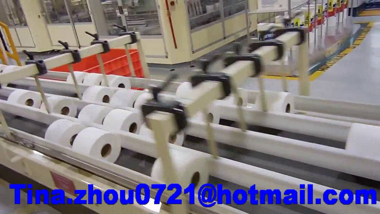 Toilet Paper Roll Making Machine Production Line