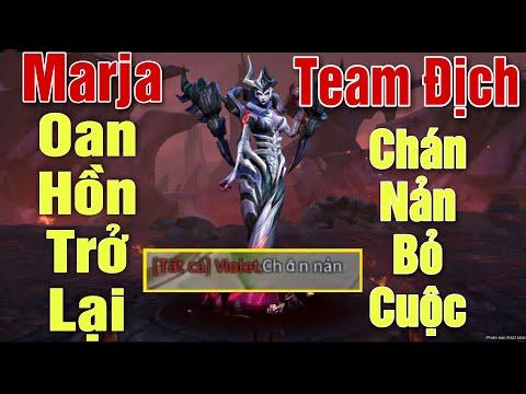 [Gcaothu] Marja Oan Hồn trở lại làm trùm Mid - Team địch chán nản bỏ cuộc vì quá mạnh